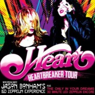 Heart announce Heartbreaker Tour with Jason Bonham Experience
