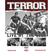 Win two shirts and a poster from TERROR