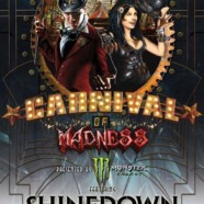Carnival of Madness 2013 lineup announced featuring Shinedown, Papa Roach, Skillet, In This Moment and We As Human