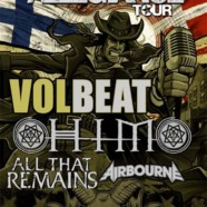 Volbeat, H.I.M., All That Remains and more announced for Rock Allegiance Tour