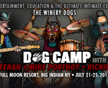 Dog Camp Featuring Mike Portnoy, Billy Sheehan & Richie Kotzen of The Winery Dogs; Immersive Program For Aspiring Musicians