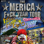 Dog Fashion Disco, Psychostick and The Bunny The Bear destroy Emerson on Merica Fuck Yeah Tour