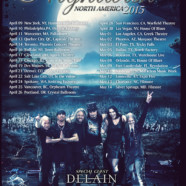 Delain announce 2015 tour dates with Nightwish