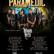 Nevada Rose announces first tour with The Paramedic