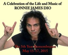 Celebrities and Musicians Announced for Ronnie James Dio's 5th Year Remembrance Celebration