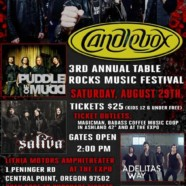 Candlebox, Puddle of Mudd, Saliva, more confirmed for 3rd annual Table Rocks Music Festival
