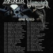 Exmortus announces winter tour with Enforcer, Warbringer
