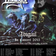 King Diamond and Exodus announce Abigail In Concert 2015 Tour