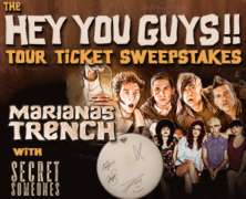 Marianas Trench Giveaway