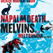 The Melvins and Napalm Death Team Up for Savage Imperial Death March Tour