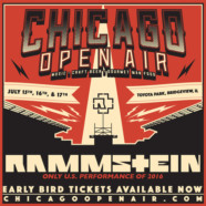 Rammstein announced as one of the openers for inaugural Chicago Open Air