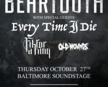 Live: Every Time I Die / Beartooth in Baltimore