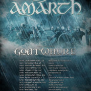 Amon Amarth announce dates with Goathwore