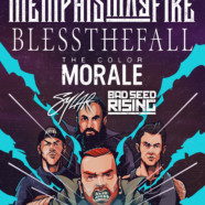 Memphis May Fire Announce Headline Tour With Blessthefall, The Color Morale