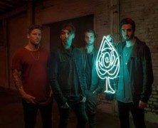 All Time Low signs with Fuled By Ramen