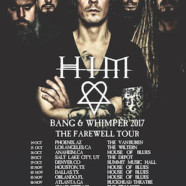 HIM Announce Bang and Whimper 2017 Tour – Staging Appearances in 17 U.S. Markets in October-November, 2017