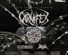 Whitechapel announces US Tour Carnifex, Rings of Saturn, Entheos, So This Is Suffering