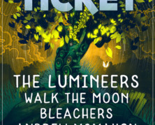 X102.9 Presents The Big Ticket: The Lumineers, Walk the Moon, Bleachers, Andrew McMahon in the Wilderness Lead Lineup for Return of Jacksonville Fest December 1