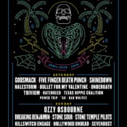 Fort Rock 2018: Ozzy, Godsmack, FFDP, Stone Sour, Shinedown & More April 28 & 29 In Sunrise, FL