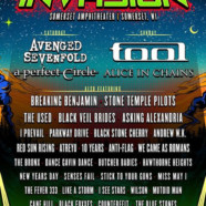 Northern Invasion 2018: Tool, Avenged Sevenfold, A Perfect Circle, Alice In Chains & More May 12 & 13
