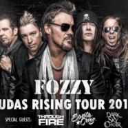 Fozzy announce 2018 leg of Judas Rising Tour