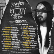 Steve Aoki Announces North American 'Kolony' Tour w/ Special Guest Desiigner
