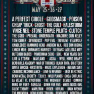 Rocklahoma 2018: A Perfect Circle, Godsmack, Poison, Cheap Trick, Ghost, The Cult, Halestorm, Vince Neil, STP, more
