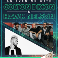 Colton Dixon to Co-Headline Spring Tour with Hawk Nelson with special guest Sarah Reeves