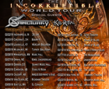 Sanctuary Tribute Upcoming Shows as Farewell to Warrel Dane; Announce Guest Vocalist Joseph Michael of Witherfall