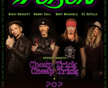 Poison announces Summer Tour with Cheap Trick and Pop Evil