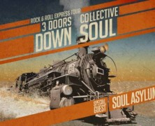 3 Doors Down and Collective Soul Announce Rock & Roll Express Tour