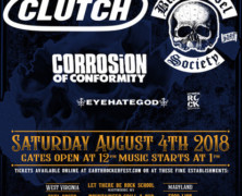 Clutch announces 2nd annual Earth Rocker Festival