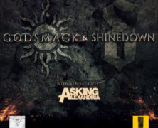 GODSMACK and Shinedown Announce Additional Co-Headlining Tour Dates into the Fall