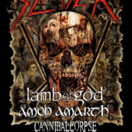 Slayer announces Cannibal Corpse, Lamb of God and Amon Amarthe for support on 2019 North American Farewell Dates