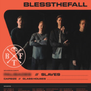 Blessthefall announces 2019 dates with Slaves