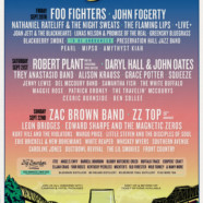 Foo Fighters, Robert Plant, Zac Brown Band, John Fogerty, Daryl Hall & John Oates, ZZ Top & More Set for Return of Bourbon and Beyond 2019
