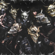 Mushroomhead sign with Napalm Records