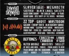 Guns N' Roses, Def Leppard, Lynyrd Skynyrd And More Than 40 Acts Set For Debut of Exit 111 October 11-13