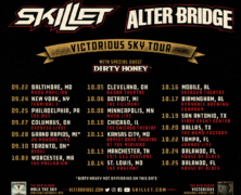 Skillet and Alter Bridge announce Fall Tour