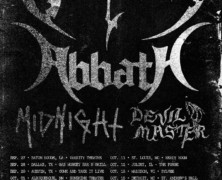 Abbath Announce North American Fall Tour with Obituary, Midnight, and More