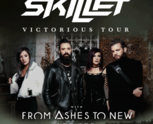 Skillet announce Winter tour with From Ashes to New and Ledger