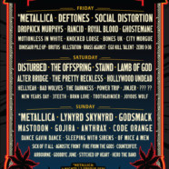 Metallica, Deftones, The Offspring, Lynyrd Skynyrd, more tapped for 2020 Welcome to Rockville