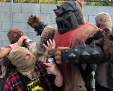 """GHOUL: The Masked Mutants Of Creepsylvania Release """"The Nectarnomicon"""""""