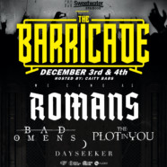 """We Came As Romans Free Live Performance Event """"The Barricade"""" Set For 12/3 + 12/4"""