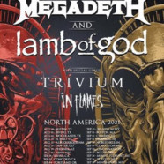 MEGADETH & LAMB OF GOD The Metal Tour Of The Year Is Coming This Summer