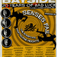 Bayside Announces 21 Years of Really Bad Luck Tour