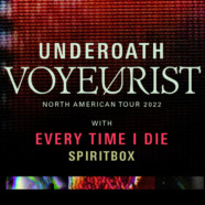 Underoath announces 2022 North American headline tour with Every Time I Die and Spiritbox