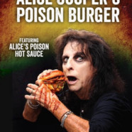 Alice Cooper partners with Rock & Brews for Alice Cooper's Poison Burger